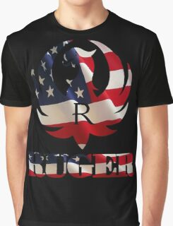 RUGER AMERICAN FLAG Graphic T-Shirt