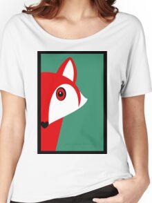 FOX SNEAKING A PEEK Women's Relaxed Fit T-Shirt
