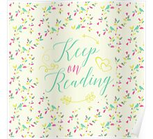 Keep on Reading Poster