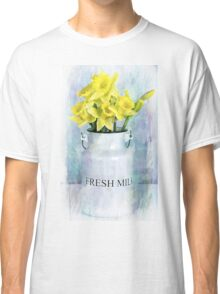 Daffodils and Milk Jug Classic T-Shirt
