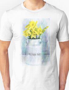 Daffodils and Milk Jug Unisex T-Shirt