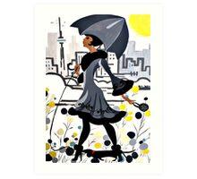 city slicker Art Print