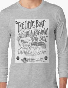 The Little Boat That Went Away To Sea Long Sleeve T-Shirt
