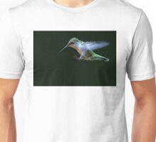 Incoming - Ruby-throated hummingbird Unisex T-Shirt