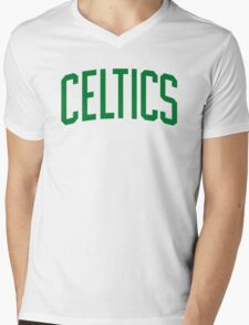 celtics Mens V-Neck T-Shirt
