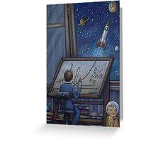 Rocket Science Greeting Card
