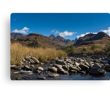 Cathedral Peak, South Africa Canvas Print