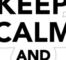Keep calm and dance Flamenco Sticker