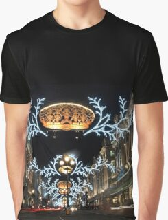Christmas in London Graphic T-Shirt
