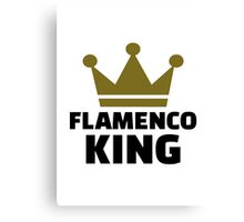 Flamenco king Canvas Print