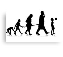 Human Evolution 6 Canvas Print