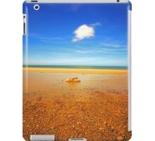 Beach Water Rock & Clouds iPad Case/Skin