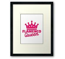 Flamenco queen Framed Print
