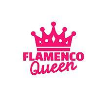 Flamenco queen Photographic Print