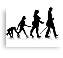 Human Evolution 8 Canvas Print
