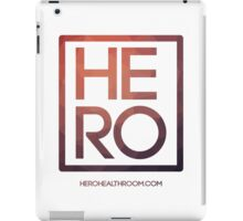 HERO ETHEREAL SQUARE iPad Case/Skin