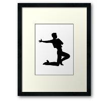 Flamenco man Framed Print
