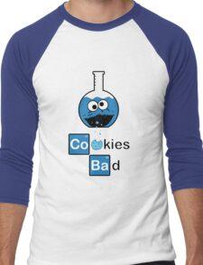 Cookies Bad! Men's Baseball ¾ T-Shirt