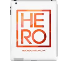 HERO VOLCANO SQUARE iPad Case/Skin