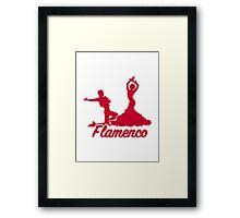 Flamenco Framed Print