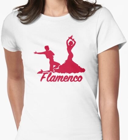Flamenco Womens Fitted T-Shirt