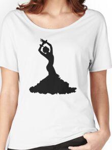 Flamenco woman Women's Relaxed Fit T-Shirt