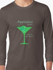 Appletini Long Sleeve T-Shirt