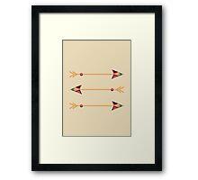Arrows Framed Print
