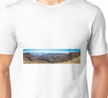 Panoramic View of the Drakensbergs.  Unisex T-Shirt