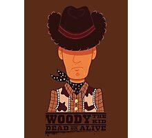 Woody the Kid Photographic Print