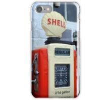 Vintage Gasoline Pumps iPhone Case/Skin