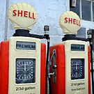 Vintage Gasoline Pumps by Ludwig Wagner