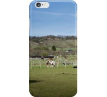 Horse Paddocks & Downs iPhone Case/Skin