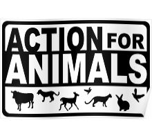 Action for animals Poster