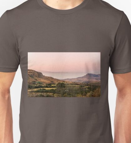 Sunset at Cathedral Peak Unisex T-Shirt