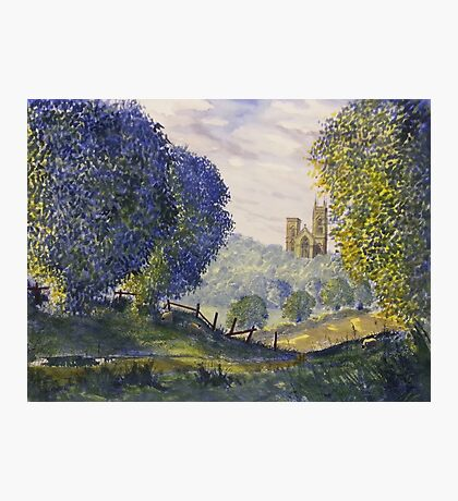 Bridlington Priory from Woldgate Photographic Print