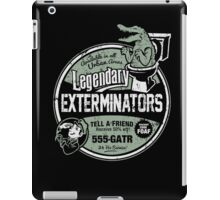 Legendary Exterminators iPad Case/Skin