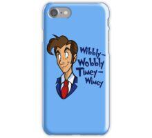Dr. Seuss of Gallifrey: Wibbly-Wobbly Timey Wimey iPhone Case/Skin
