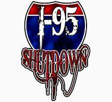 I-95 SHUTDOWN CAR AND TRUCK SHOW  Men's Baseball ¾ T-Shirt