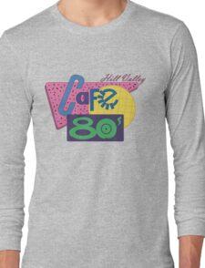 Cafe 80´s Long Sleeve T-Shirt