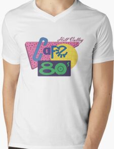 Cafe 80´s Mens V-Neck T-Shirt