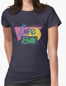 Cafe 80´s Womens Fitted T-Shirt