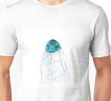 Hand painted watercolor jellyfish Unisex T-Shirt