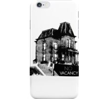NO VACANCY iPhone Case/Skin