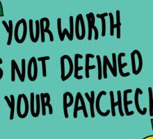 Affirmations: Self Worth Sticker
