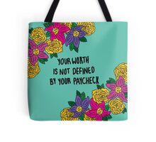 Affirmations: Self Worth Tote Bag
