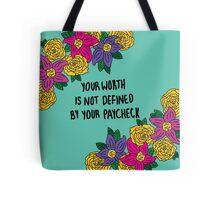Affirmations: Self Worth Tote Bag