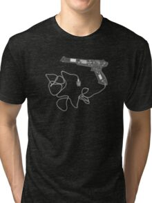Nintendo NES Zapper - X-Ray Tri-blend T-Shirt