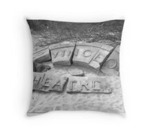 Provincetown Theatre Throw Pillow