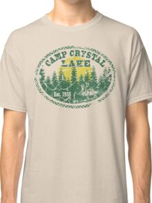 Camp Crystal Lake Retro Distressed Classic T-Shirt